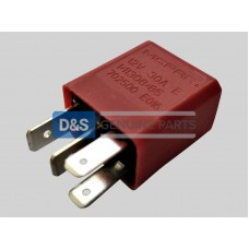 RELAY MINI (RED)4 SPADE:20/30A