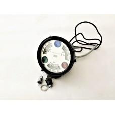 CLOCK GAUGE BLACK WP 100-2