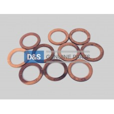 COPPER WASHER:M16 X 22:  MIN.10